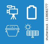 simple set of technology vector ... | Shutterstock .eps vector #1138082777