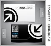 vector abstract creative... | Shutterstock .eps vector #113809273