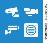 filled technology icon set such ... | Shutterstock .eps vector #1138099157