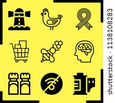 simple icon set of art related...   Shutterstock .eps vector #1138108283
