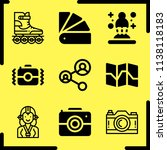 simple icon set of art related... | Shutterstock .eps vector #1138118183