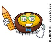 student sea urchin character... | Shutterstock .eps vector #1138177193