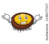 grinning sea urchin character... | Shutterstock .eps vector #1138177217