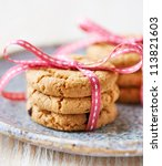 Cranberry Cookies Tied With...