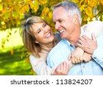 Happy Senior Couple In Love....