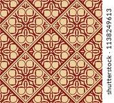 vector modern tiles pattern.... | Shutterstock .eps vector #1138249613