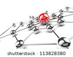 Internet and networking concept - stock photo