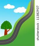 steep road | Shutterstock . vector #11382937