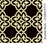 art deco pattern. seamless... | Shutterstock .eps vector #1138319777