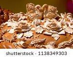 ukrainian handmade festive... | Shutterstock . vector #1138349303