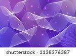 light purple  pink vector cover ... | Shutterstock .eps vector #1138376387