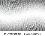 abstract halftone wave dotted... | Shutterstock .eps vector #1138430987
