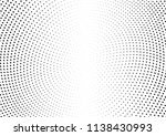 abstract halftone wave dotted... | Shutterstock .eps vector #1138430993