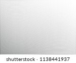 abstract halftone wave dotted... | Shutterstock .eps vector #1138441937