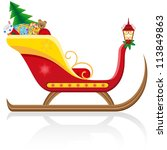 Christmas Sleigh Of Santa Clau...