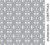 seamless geometric ornamental... | Shutterstock .eps vector #1138579163