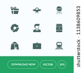 modern  simple vector icon set... | Shutterstock .eps vector #1138609853