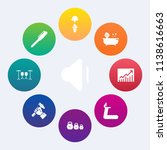 modern  simple vector icon set... | Shutterstock .eps vector #1138616663
