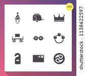 modern  simple vector icon set... | Shutterstock .eps vector #1138622597