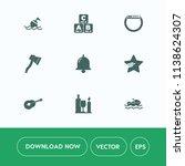 modern  simple vector icon set... | Shutterstock .eps vector #1138624307
