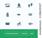 modern  simple vector icon set... | Shutterstock .eps vector #1138633337