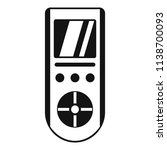 digital remote control... | Shutterstock .eps vector #1138700093