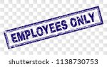 employees only stamp seal print ... | Shutterstock .eps vector #1138730753