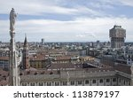 velasca tower in milan  italy | Shutterstock . vector #113879197