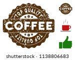 top quality medallion stamp.... | Shutterstock .eps vector #1138806683