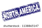 north america stamp seal print... | Shutterstock .eps vector #1138865147