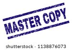 master copy stamp seal... | Shutterstock .eps vector #1138876073
