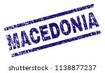 macedonia stamp seal watermark... | Shutterstock .eps vector #1138877237