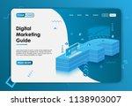 digital marketing background...