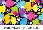 color abstract design pattern... | Shutterstock .eps vector #1139015603
