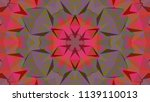 geometric design  mosaic of a... | Shutterstock .eps vector #1139110013