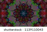 geometric design  mosaic of a... | Shutterstock .eps vector #1139110043