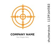 shooting target company logo... | Shutterstock .eps vector #1139164583