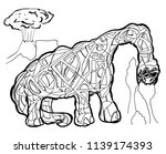 abstract illustration of... | Shutterstock .eps vector #1139174393