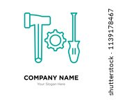 tools company logo design... | Shutterstock .eps vector #1139178467