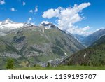 mountain landscape  in the... | Shutterstock . vector #1139193707