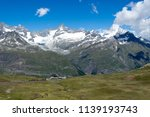 mountain landscape  in the... | Shutterstock . vector #1139193743