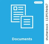 documents vector icon isolated... | Shutterstock .eps vector #1139196467