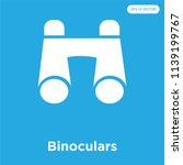 binoculars vector icon isolated ... | Shutterstock .eps vector #1139199767
