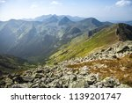 summer hike in the slovakia... | Shutterstock . vector #1139201747