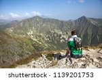summer hike in the slovakia... | Shutterstock . vector #1139201753