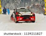 covasna  romania   january 19... | Shutterstock . vector #1139211827