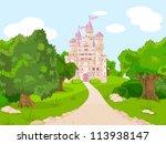 Beautiful  Fairytale Castle O...