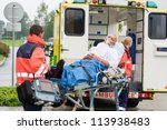 oxygen mask male patient...   Shutterstock . vector #113938483