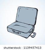 big modern trunk box sac on...   Shutterstock .eps vector #1139457413