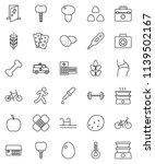 thin line vector icon set  ... | Shutterstock .eps vector #1139502167